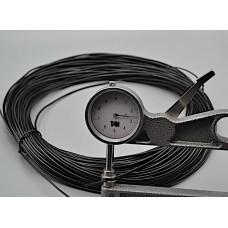 Tubetto per profili PVC rigenerato diametro mm 2,5 conf. 50 metri