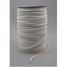 Treccia cotone bianca mm 3