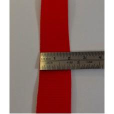 Nastro Gros grain mm 20 in poliestere rotolo da 100 metri