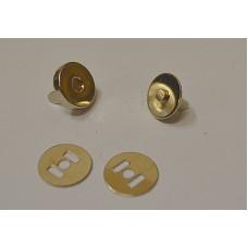 Conf.5 pz Chiusure magnetiche mm 14 Nichel