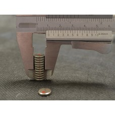 conf- 50 Magneti Neodimio mm 9,5 x 2