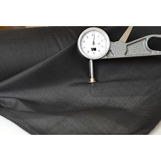 Garzina cotone o misto polyestere in semplice grezzo o nero h 150 cm