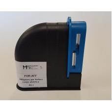 Affilatore in plastica per forbici acciaiocm 12x12x2.5