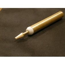 Penna tingibordo in inox punta ottone