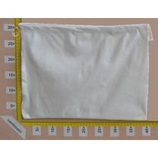Sacchetto per borse in tessuto nontessuto bianco cm 40x30
