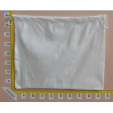 Sacchetto per borse in tessuto nontessuto bianco cm 50x37