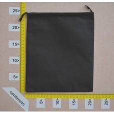 Sachetto per cinture in polibond nero cm 20X25