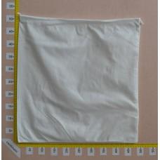 Sacchetto per borse in tessuto nontessuto bianco cm 50x50
