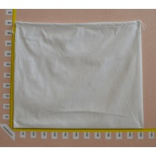 Sacchetto per borse in tessuto nontessuto bianco cm 60x50