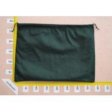 Sacchetto per borse in tessuto nontessuto verde scuro cm 40x30