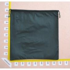 Sacchetto per borse in tessuto nontessuto verde scuro cm 40x37