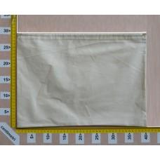 Sacchetto per borse cm 40x30 in cotone grezzo