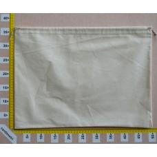 Sacchetto per borse cm 50x37 in cotone grezzo