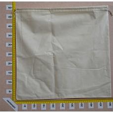 Sacchetto per borse cm 50x50 in cotone grezzo