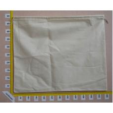 Sacchetto per borse cm 60x50 in cotone grezzo