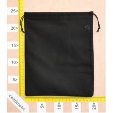 Sacchetto per cinture cm 20x25 in cotone Nero