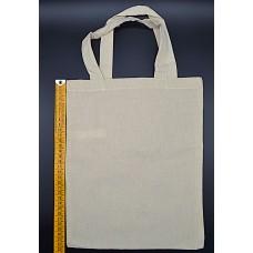 Mini shopper cotone 135 g/mq cm 26x32 manici corti